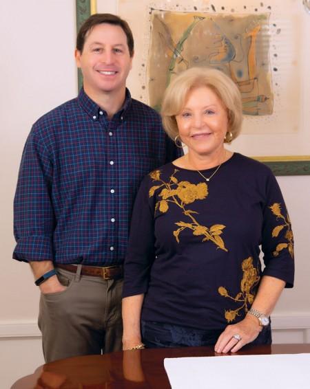 Josh Pesikoff and mom Bette Pesikoff